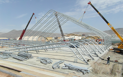 DESIGN AND CONSTRUCTION OF JAF III AIRCRAFT HANGAR