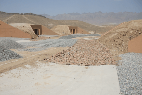 ANA 22 Arms Storage Bunkers at Pule Charkhi, Kabul – Afghanistan