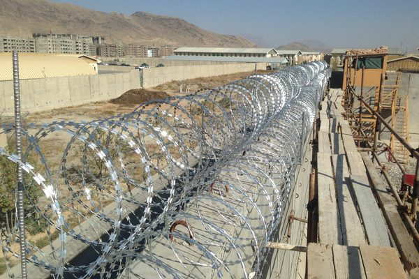 Design and Construction of Chain-link Fence around Aerial Port Facility located in NKAIA.