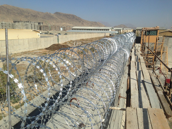 Contract No.   :W91B4M-11-C-6644  Client.               :  US Government, Kabul Regional Contracting Center, Camp Eggers Year : 2012